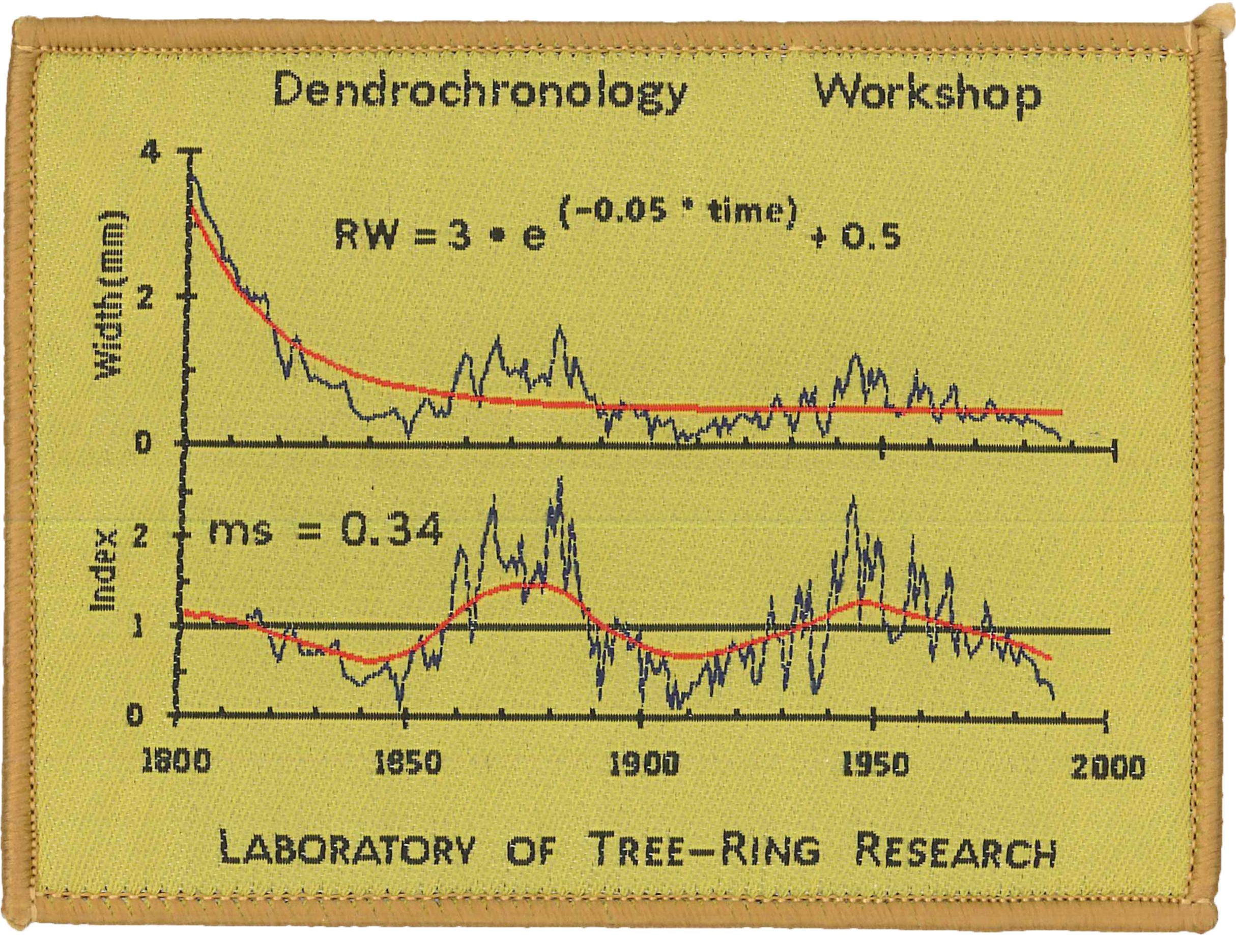 Cross dating methods in dendrochronology and climate
